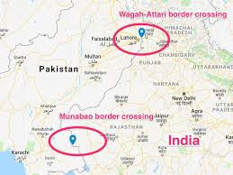 Why did the british divide india into afghanistan pakistan and. Here S What Life Is Like On The Border Between India And Pakistan