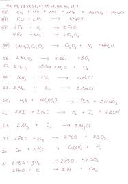 balancing chemical equations worksheet 1 answers the best and