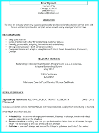 Bartending Resume Examples Beauteous Example Of Bartender Resume Free Example Resumes Resume Sample For