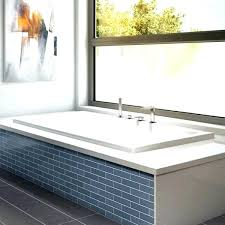 drop in tub. Drop In Bath Tub Bathtub Jade Soaking Modern Rectangle Installation .