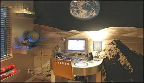 Let your child's imagination go wild with the outer space themed bedrooms.  Outer space theme bedroom decorating ideas ...