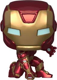 <b>Фигурка Funko POP</b>! Bobble: <b>Marvel</b>: <b>Avengers</b> Game: Iron Man