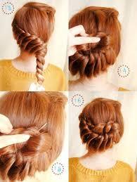 pin bun hair style trendy mods com Wedding Hairstyles Step By Step pin bun hair style fancy hairstyles step by step for wedding