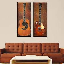 awesome guitar wall art metal stickers canvas uk ideas bed bath and beyond decals bass