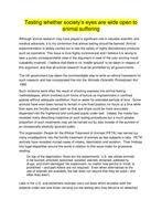 x a grade higher english folio persuasive essays by biggles   animal testing persuasive essay docx