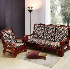 wooden sofa with cushions gorgeous wood frame sofa with for trendy cushions for wooden sofa
