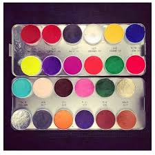 ping low kryolan aqua colour kit must have for my makeup kit aqua and colour