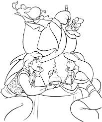 Aladdin And Princess Jasmine Romantic Dinner