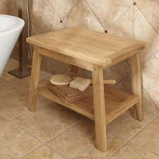home and furniture vanity teak bath stool of corner teak bath stool fayeflam