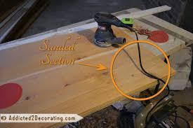 diy weathered wood countertop