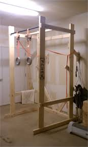 diy squat rack with pull up bar build your own power rack power rack garage