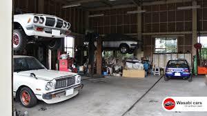 Old-school JDM Dream Garage - Datsun Bluebird, Toyota Chaser ...
