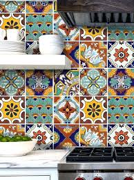 tile stickers for kitchen backsplash tile stickers for kitchen bath or floor waterproof mix decals by tile stickers