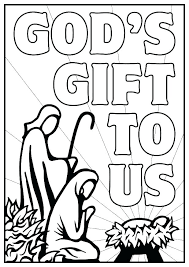 Printable Nativity Coloring Pages Free Nativity Coloring Pages