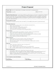 It Project Proposal Template Free Download It Project Proposal Template