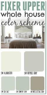 paint color schemeFixer Upper Inspired Whole House Color Schemes  The Weathered Fox