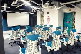 studio office furniture. 13 chicseatingoptionsinsidethespaceshipthemedoffice studio office furniture n