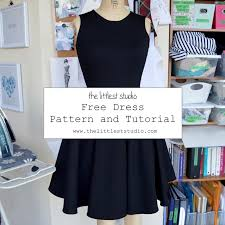 Dress Patterns Free Adorable Blog The Littlest Studio