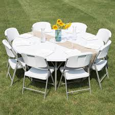 72 round table amazing los angeles plastic folding tables california for 6