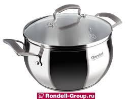 <b>Кастрюля Rondell</b> Charm 18 см (<b>2.4л</b>) RDS-732 купить в Москве ...