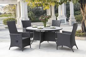bamboo piece outdoor patio patio furniture dining set piece bamboo garden outdoor beige canvas