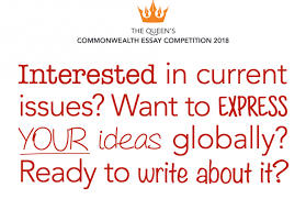 queen s commonwealth essay competition for young writers from  the queen s commonwealth essay competition 2018
