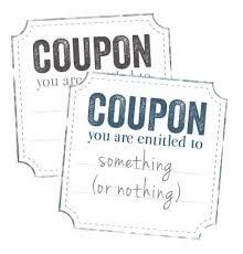 Printable Iou Coupon Voucher Diy Crafty Pinterest Coupons I Owe You