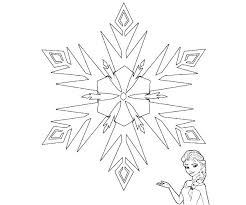 Snowflake Mandala Coloring Pages Free Snowflakes Page For Toddlers