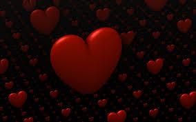 Download wallpaper 1440x900 hearts ...