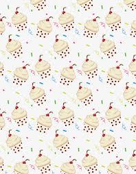 Cupcake De Fondo Crema Polka Dot Pastel De Crema Cupcake Png Y