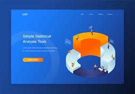 3d Isometric Illustration People Interacting With Pie Chart
