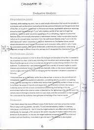 gcse film studies evaluation examples 5