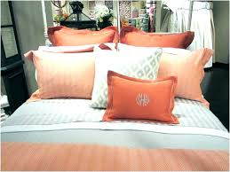 grey and orange comforter gray bedding bed sets comforters