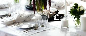 great linen tablecloths with white paper tablecloths round