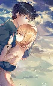 Cute Anime Couple Wallpaper Iphone ...