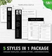 Modern Resume Style Esty Templatescastle Templatescastle Twitter