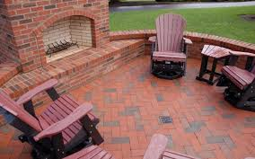 clay paver patio