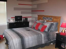bedroom ideas for teenage guys. Bedroom Designs Teenage Guys Small Nightstand Plus Wooden Computer Desk Yellow Lacquered Night Lamp Luxury Ideas For