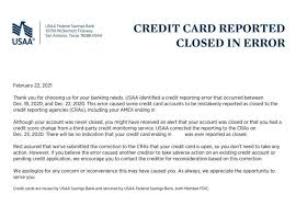 Consumers can dispute fraudulent charges on their bill by calling their issuer. Usaa Credit Cards Reporting As Closed Fixed Letter Sent Out Doctor Of Credit