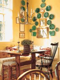 dining room what colour goes with yellow walls glass hurricane candle holders super soft gy