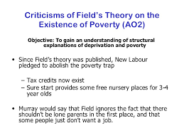 sociologyexchange co uk shared resource  44 criticisms of field s theory on the existence of poverty