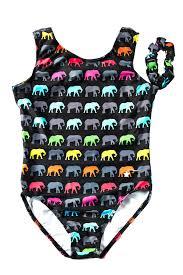 Destira Leotard Size Chart Galleon Destira Elephant Walk Printed Leotard For Girls