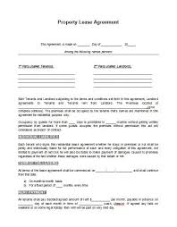 Rental Lease Agreement Forms. Template Rental Lease Agreement Rental ...