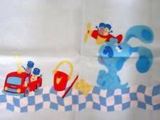 mailbox blues clues toy.  Toy BlueSalt U0026 PepperMailbox BLUES CLUES Twin Flat Sheet Shovel Pail Tickety  Tock For Mailbox Blues Clues Toy