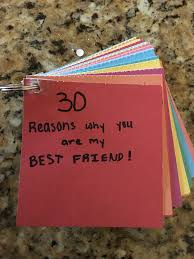 This is a gift for my friend I made... I did 30 reasons  Bestie GiftsBestfriend  Christmas ...