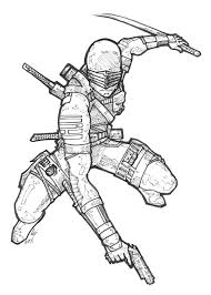 Small Picture Gi Joe Coloring Pages Coloring Page