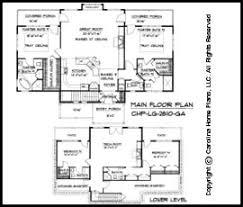 craftsman floor plans. LG-2810 Floor Plans Craftsman N