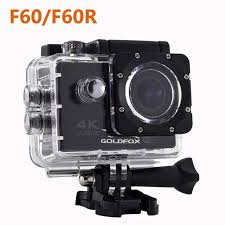 Goldfox 4k Ultra Hd Wifi Action Camera F60 F60r 1080p 16mp 2 0 Lcd