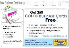 Make Free Flyers To Print Business Cards Design And Print Free Create A Business Card Template
