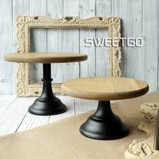 Wooden Display Stands For Plates Wood Cake Stands Vintage Wedding Cake Decoration Home Baking 68